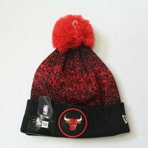Chicago Bulls Winter Pom Hat
